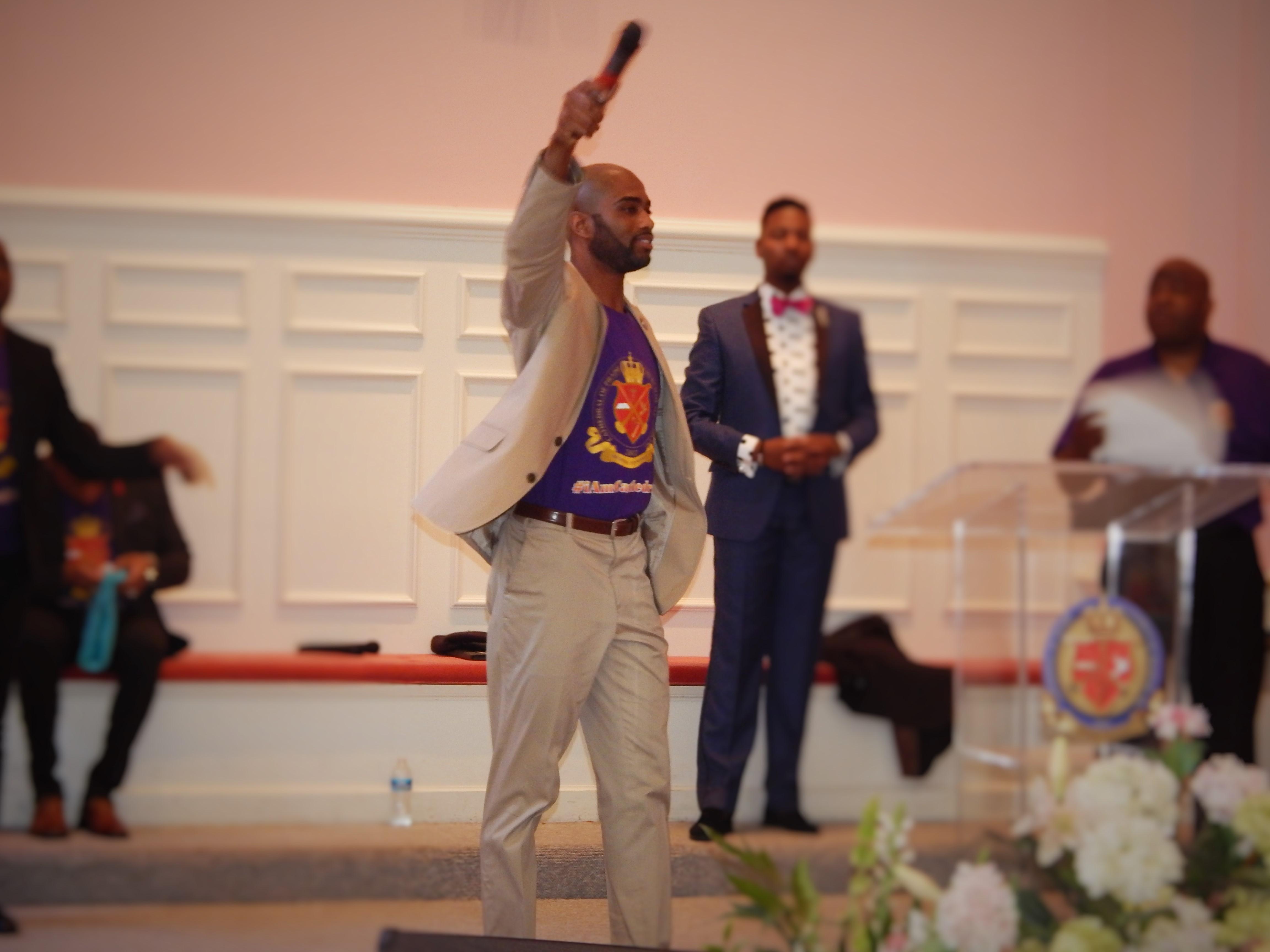 Pastor Gooch Exalting