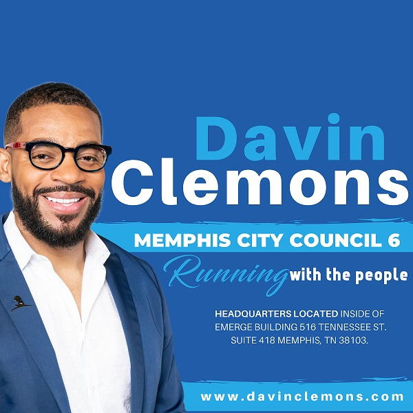 Davin Clemons for Memphis City Council District 6